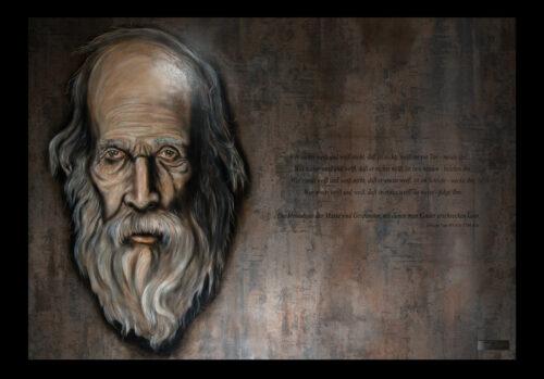 Michael Lang Painting: Socrates
