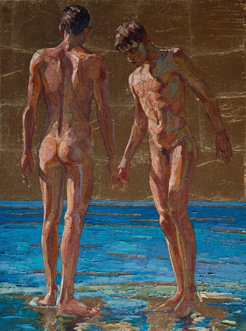 Soft Touch Gay Art Painting Sergey Sovkov