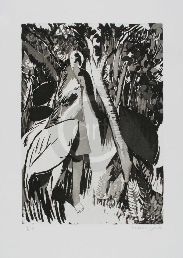 Sterntaler Nr 15 Michael Hedwig Bild Radierung