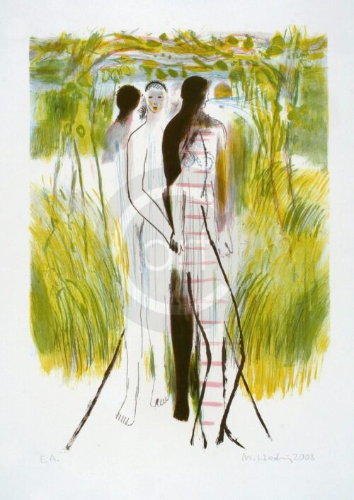 Michael Hedwig Painting: Sterntaler 3