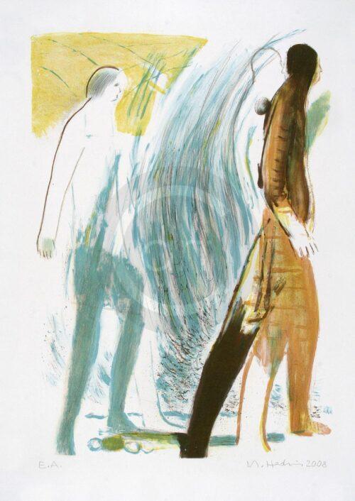 Michael Hedwig Painting: Sterntaler 5