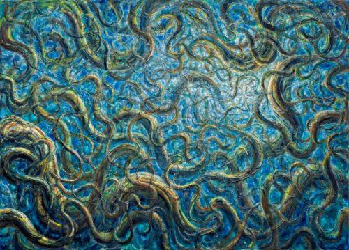 De Es Schwertberger Painting: Stringworld