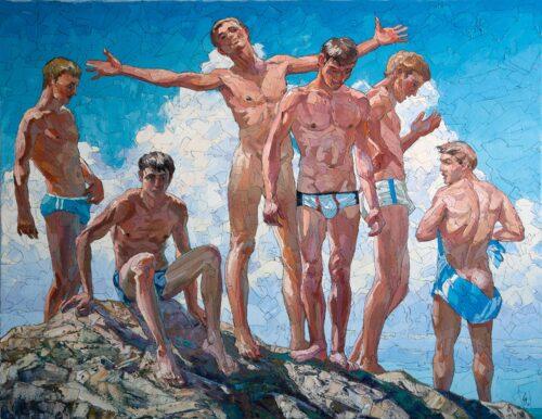 Summerly Freedom Gay Art Painting Sergey Sovkov