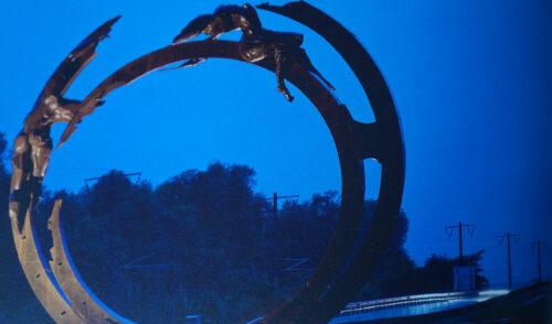 Talkjourney hans peter profunser skulptur