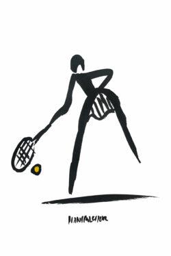 Tennis Bild Hans Salcher
