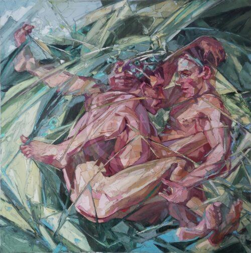 Tollerei Im Grasss Sergey Erwin Sovkov Bild