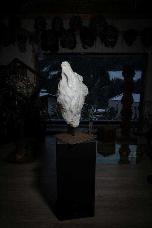 Torso carara marmor michael lang skulptur