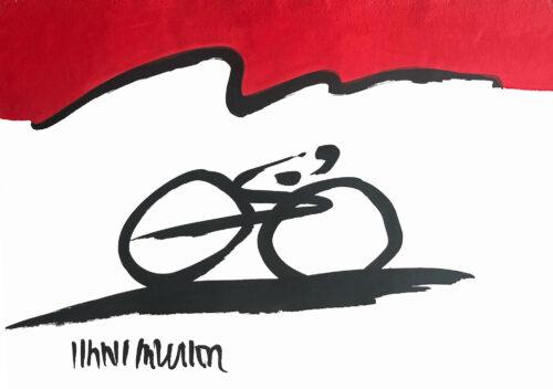 Hans Salcher Painting: Tour de France