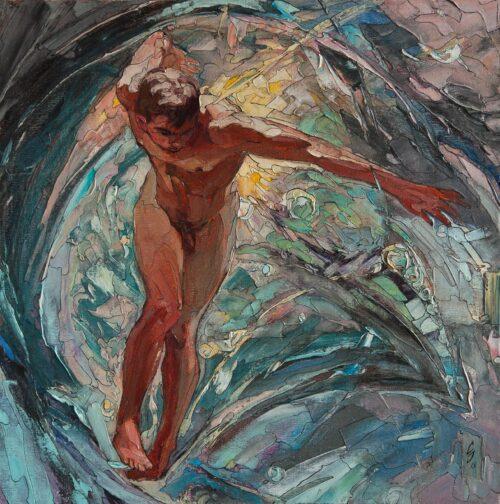 Treasures Of The Ocean Gay Art Painting Sergey Sovkov