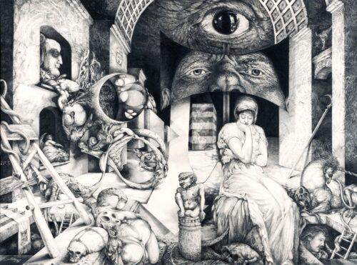 VINDOBONA ALTARPIECE III SNAKES AND LADDERS
