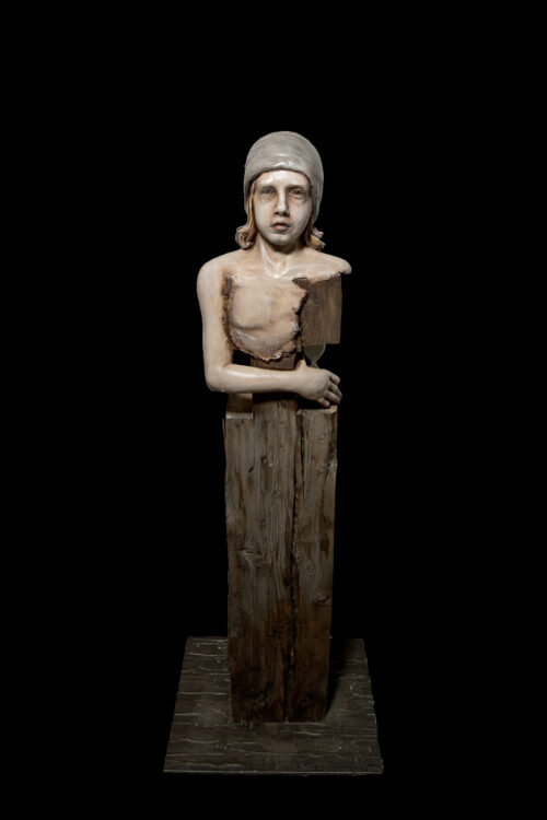 Michael Lang Sculpture: Warchild