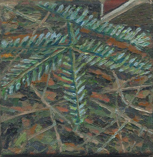 Yew Tree Noel Paine Painting