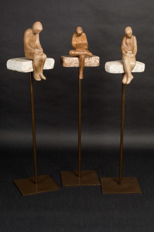 Zeitgeist sebastian rainer skulptur